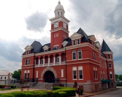 Elbert County Courthouse image. Click for full size.