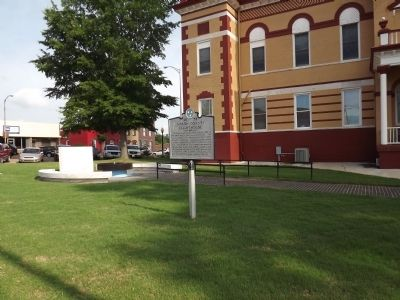 Gibson County Courthouse Marker image. Click for full size.