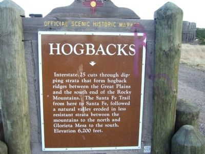 Hogbacks Marker Photo, Click for full size