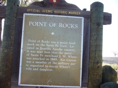 Point of Rocks Marker image. Click for full size.