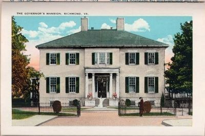Governor's Mansion, Richmond, Va. image. Click for full size.