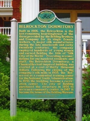 Belrockton Dormitory Marker image. Click for full size.