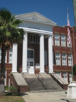 Plant City High School Marker image. Click for full size.