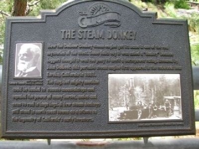 The Steam Donkey Marker image. Click for full size.