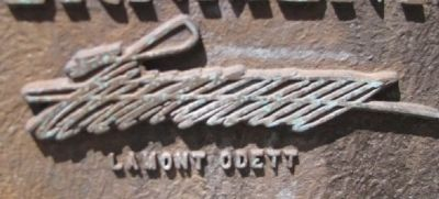 Lamont Odett signature from the marker image. Click for full size.