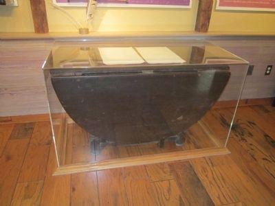Desk Used by Benjamin Banneker image. Click for full size.