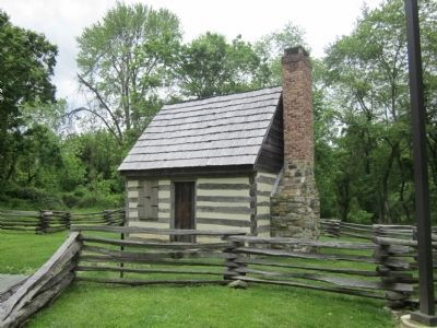 Benjamin Banneker Cabin Photo, Click for full size
