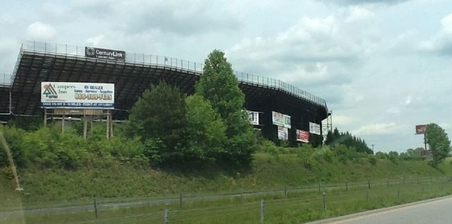 Outside of North Wilkesboro Speedway image. Click for full size.