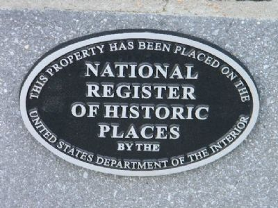 """This property has been place on the National Register of Historic Places image. Click for full size."