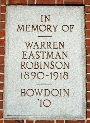 Robinson Memorial Gate Marker image. Click for full size.