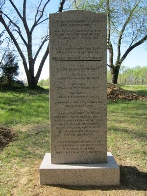 Texas Monument (back) image. Click for full size.