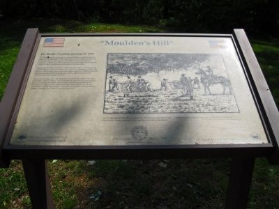 Moulden's Hill Marker image. Click for full size.