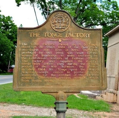 The Tonge Factory Marker image. Click for full size.