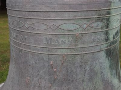 Monastery Bell Marker image. Click for full size.
