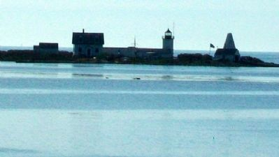 Goat Island and Lighthouse image. Click for full size.