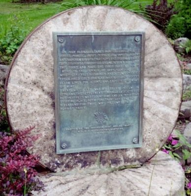 Buffalo Trace Marker Photo, Click for full size