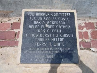POW Marker Committee image. Click for full size.
