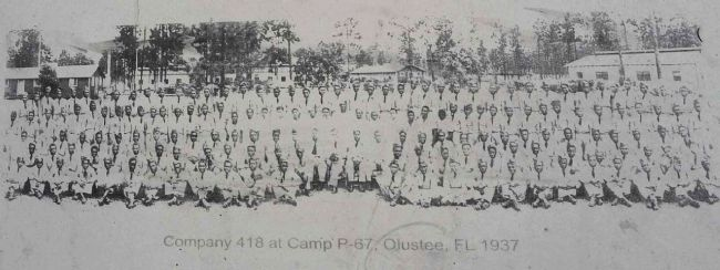 right photo- Company 418 at Camp P-67 image. Click for full size.