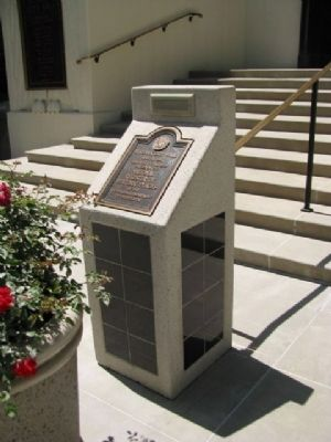 Burbank City Hall Marker image. Click for full size.