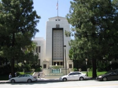 Burbank City Hall image. Click for full size.