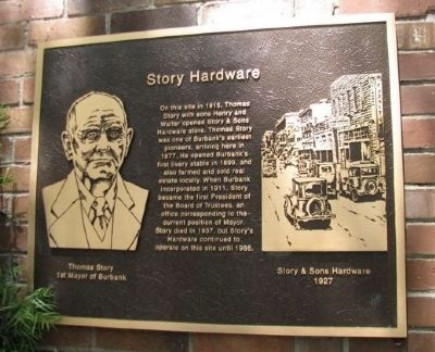 Story Hardware Marker image. Click for full size.