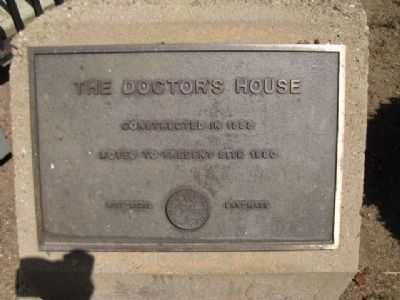 Doctors House Marker image. Click for full size.