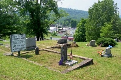 Grave site for Julia Jackson Woodson - Stonewall Jackson's Mother Photo, Click for full size