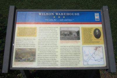 Wilson Warehouse CWT Marker image. Click for full size.