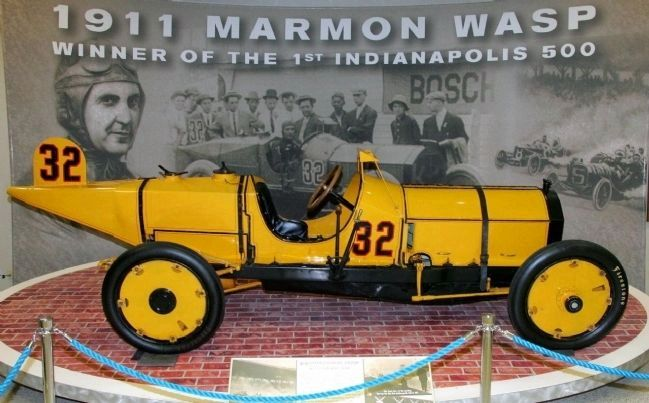# 32 Marmon Wasp - - Winning Car 1911 Indy 500 Race image. Click for full size.