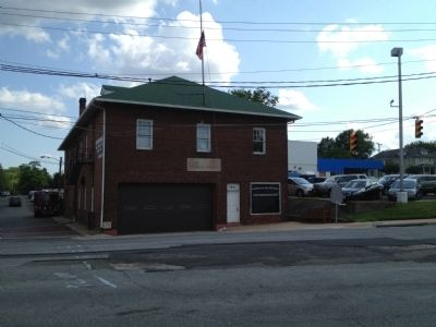Cherrydale Volunteer Firehouse image. Click for full size.