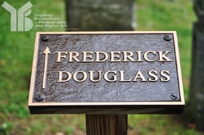 Frederick Douglass Grave Directional Marker image. Click for full size.