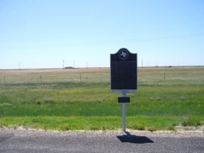 Last Great Panhandle Cattle Drive to Montana Marker image. Click for full size.