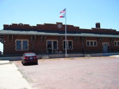 Atchison, Topeka, & Santa Fe Railroad Depot image. Click for full size.