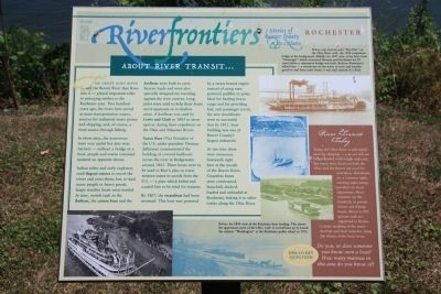 About River Transit ... Marker image. Click for full size.