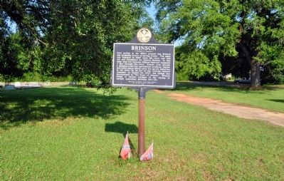Side 1: Brinson Marker Photo, Click for full size