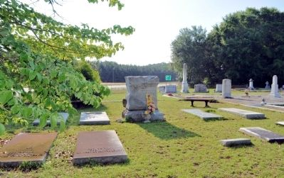 Simeon Brinson's Grave Photo, Click for full size