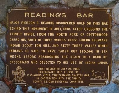 Reading�s Bar Marker image. Click for full size.