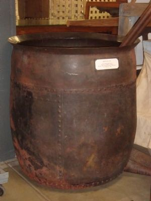 Brewery Vat at the Jake Jackson Museum in Weaverville Photo, Click for full size