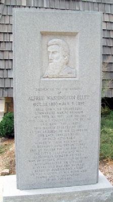 Alfred Washington Ellet Monument image. Click for full size.