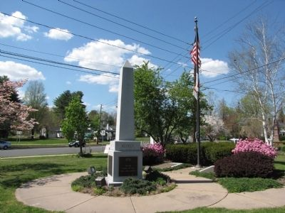 Veteran's Monument image. Click for full size.