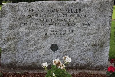 Helen Adams Keller Marker Photo, Click for full size