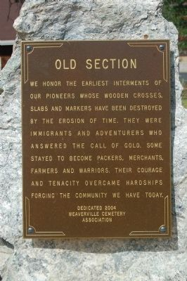 Old Section Marker image. Click for full size.