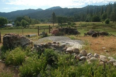Wilson Ranch Granary Foundation image. Click for full size.