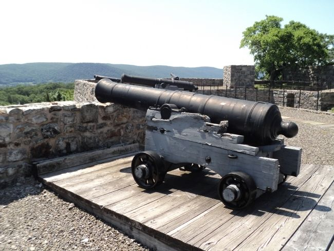 Fort Putnam Cannon image. Click for full size.