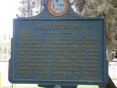 Rollestown Marker image. Click for full size.