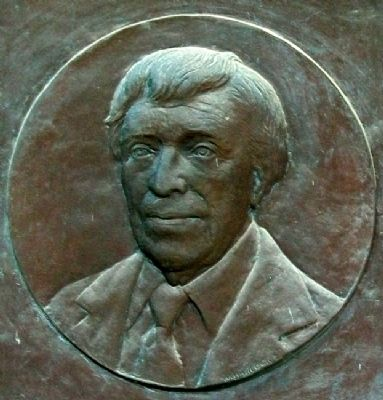 Edwin A. Ulrich Relief on Marker Photo, Click for full size