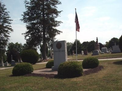 American Legion side of Memorial image. Click for full size.