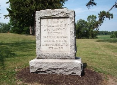 Putnam County Revolutionary War Memorial Marker Photo, Click for full size