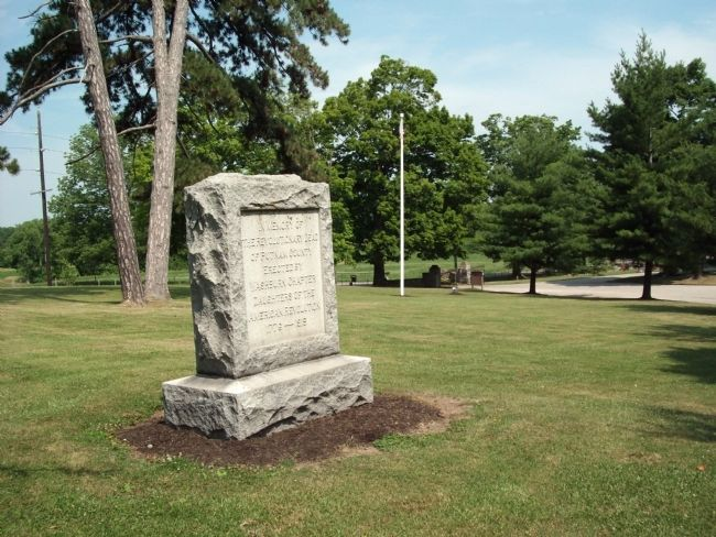 Looking West - - Putnam County Revolutionary War Memorial Marker Photo, Click for full size
