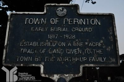 Town of Perinton Marker image. Click for full size.